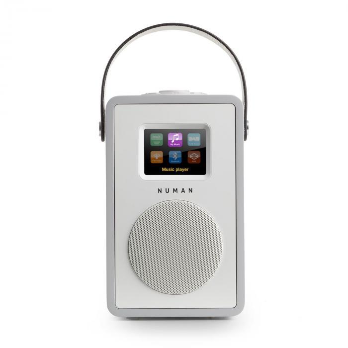 Mini Two Design-Internetradio WiFi DLNA Bluetooth DAB/DAB+ UKW Grau