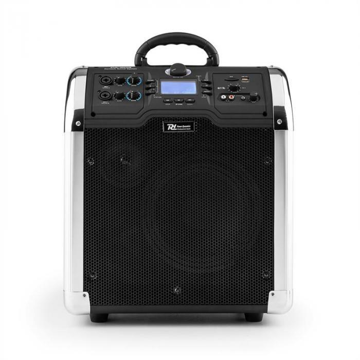 PA-203 Mobile PA Anlage portables Soundsystem Bluetooth USB SD MP3 2xAUX UKW Akku