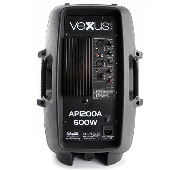 """AP1200A Hi-End Aktiv Lautsprecher 30 cm (12"""") 600W"""