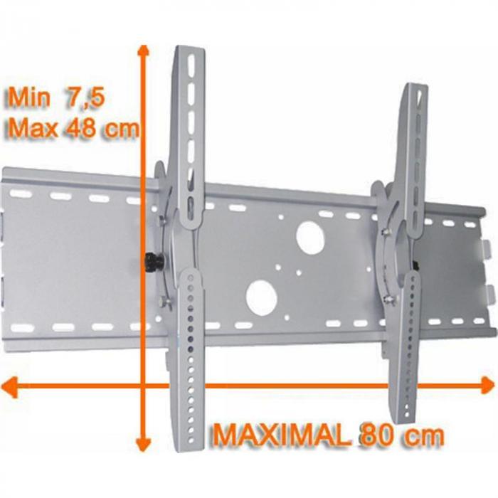 """Wandhalter TV 76-160cm (32 - 63"""") bis 75kg schwenkbar"""