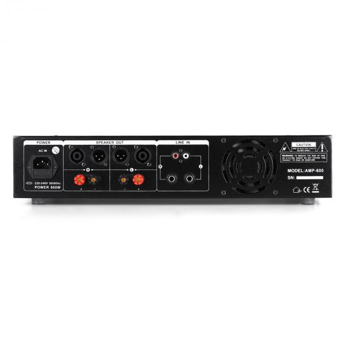 DJ PA Set Rack Star Series Mercury Beat Bluetooth 250 Personen