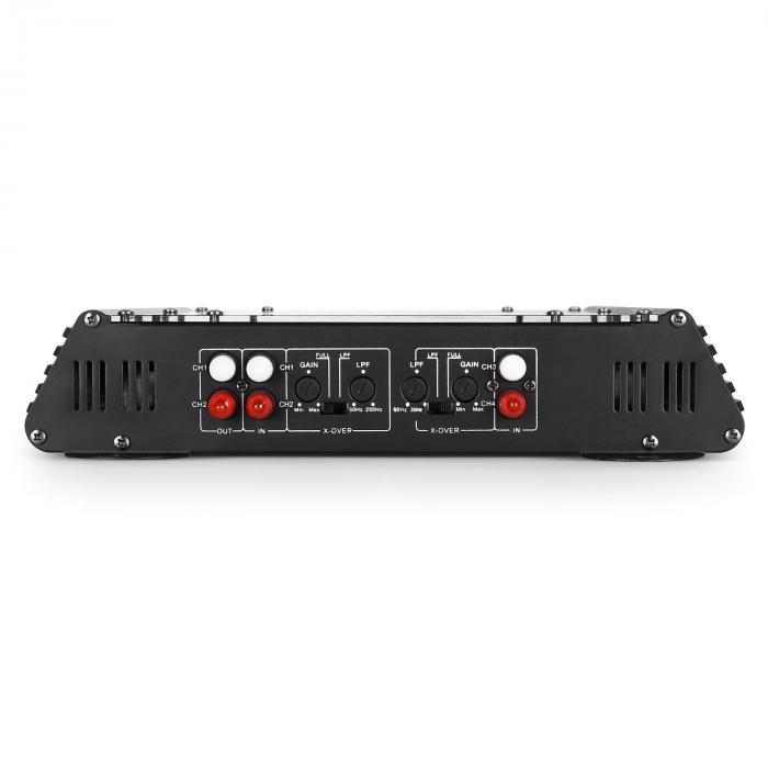 W2-AC400 4-Kanal Auto-Endstufe Car Verstärker 360W RMS 4000W max. Acryl