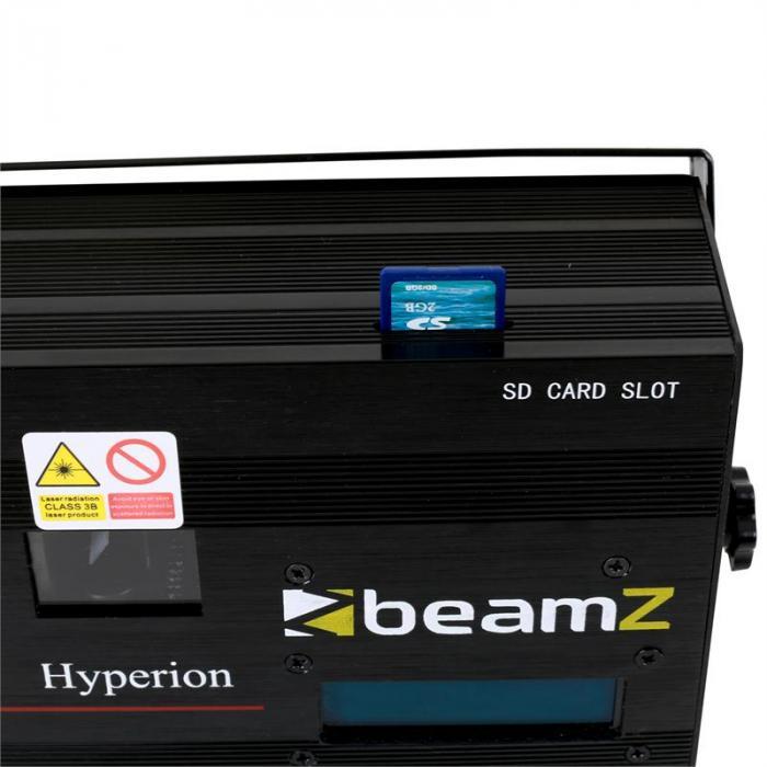 Hyperion Animationslaser 10 Kanal DMX SD
