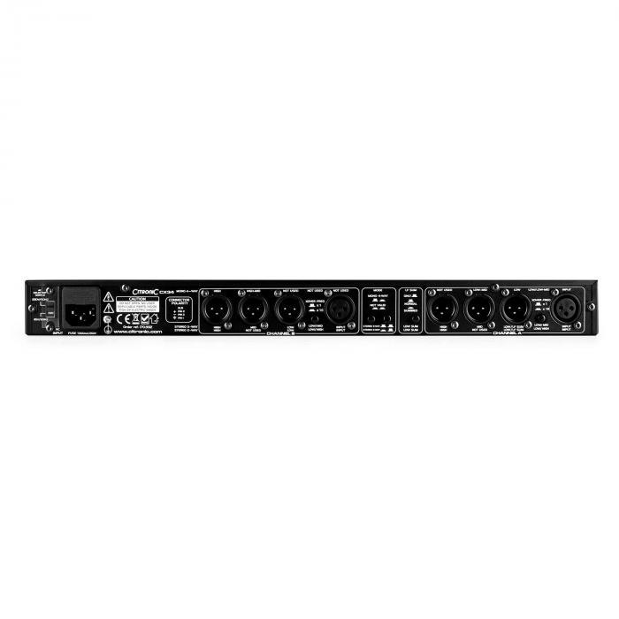 CX34 Crossover-Effekt 2/3/4-Kanal Frequenzweiche