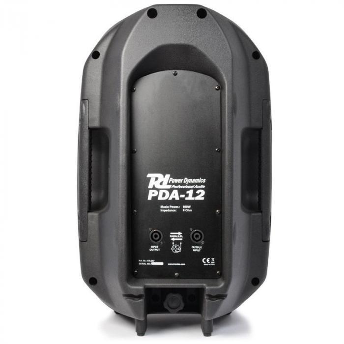 PDA-12 PA Passiv-Lautsprecher passive 2-Wege PA-Box 1200W 96dB