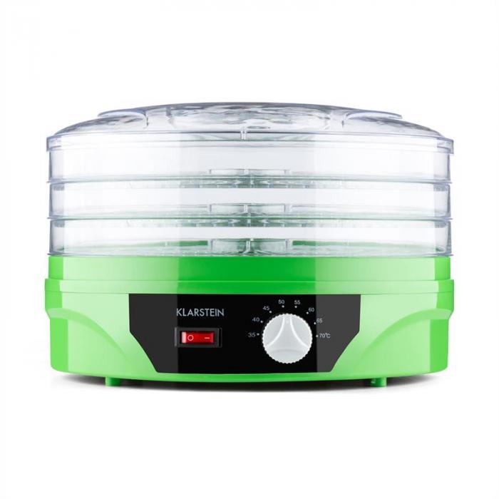 Sunfruit Dehydrator grün Trockner 260W Thermostat