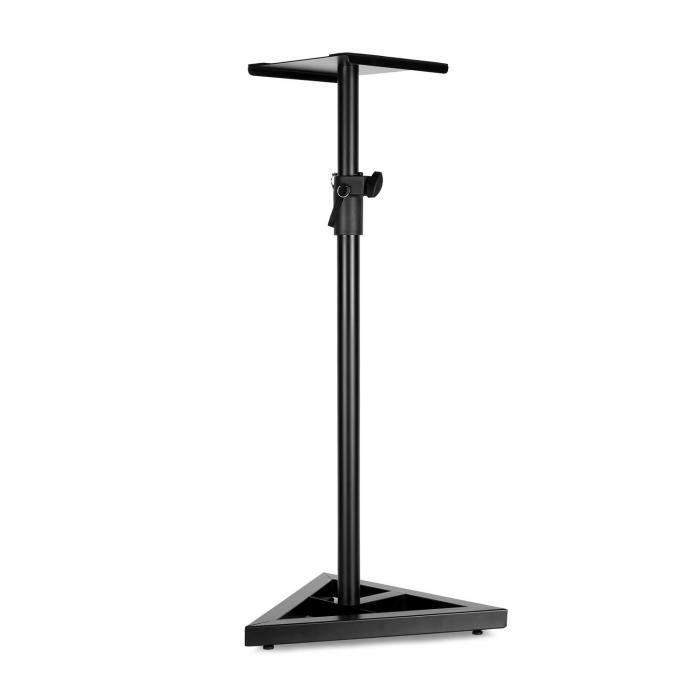 Monitor-Stand 5 Lautsprecher-Ständer schwarz