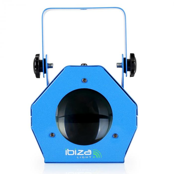 LCM003LED Moonflower RGBWA Musiksteuerung blau