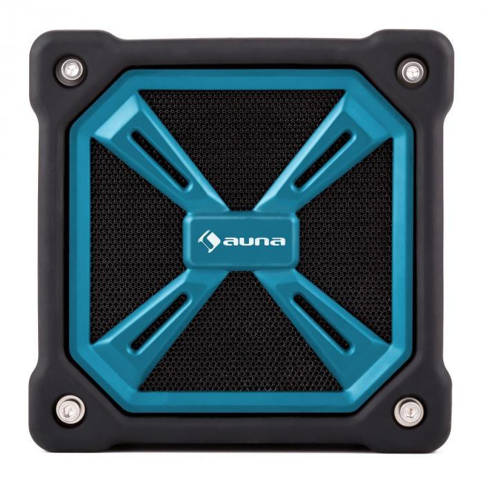 TRK-861 Bluetooth-Lautsprecher mobil Akku Outdoor blau
