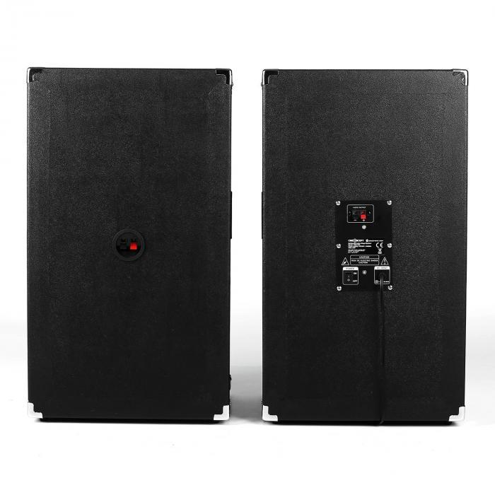 BSX-12A PA-Lautsprecher USB microSD AUX MIC 160W schwarz