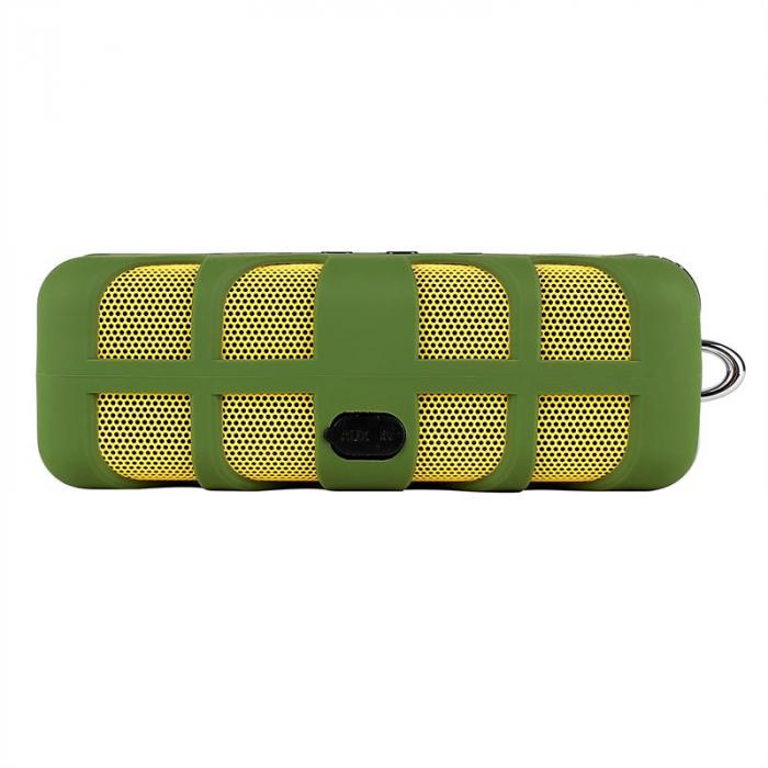 Green Know Bluetooth-Lautsprecher AUX Akku grün