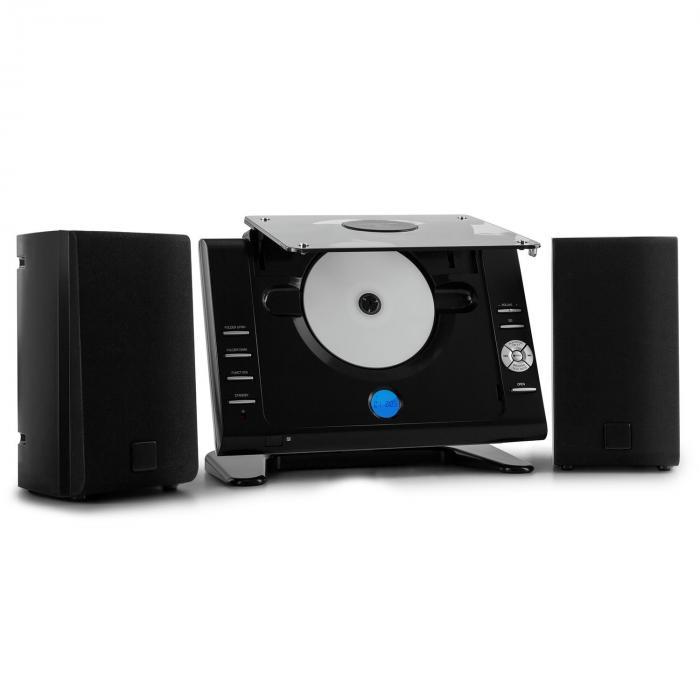 Vertical 70 Stereoanlage CD USB MP3 AUX schwarz