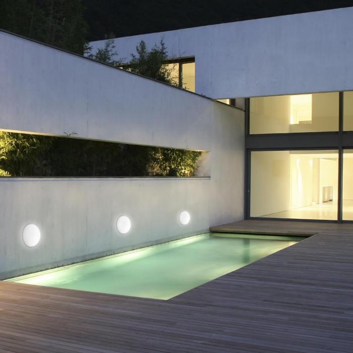 Hemisphere 20 Solarlampe Gartenleuchte Halbkugel Ø 20cm LED IP44