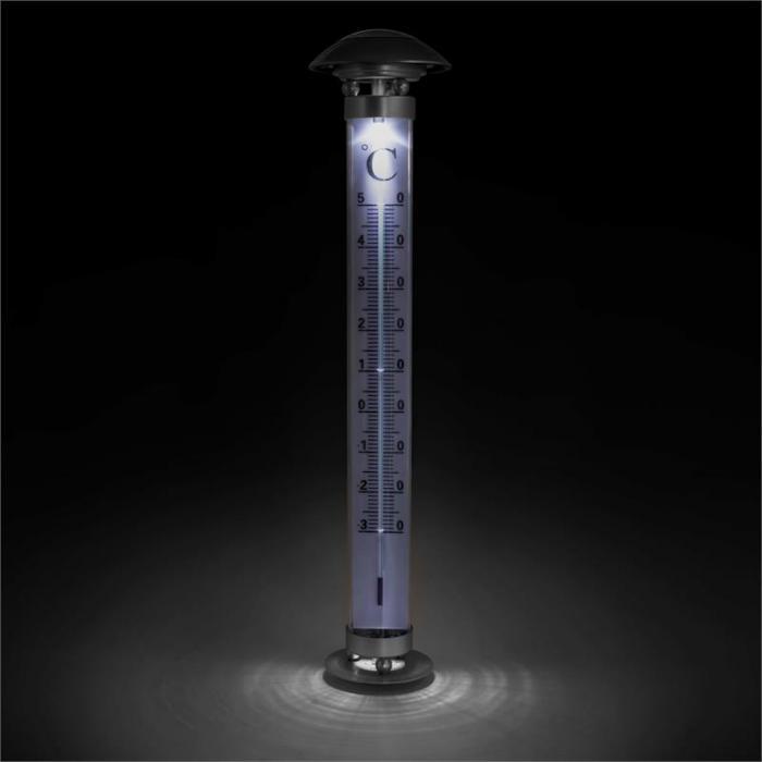 Sunometer Gartenthermometer Solarleuchte LED IP44