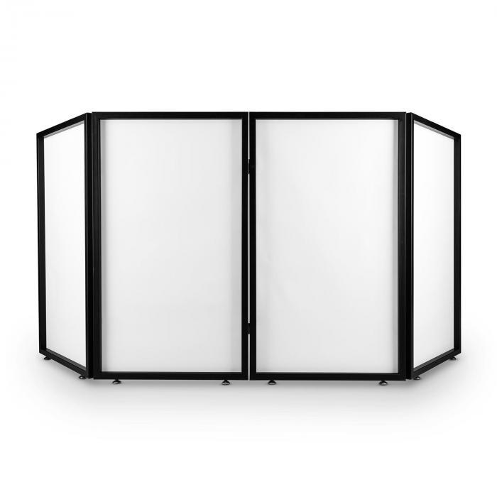 Facade 4 DJ-Screen Metallrahmen 4 Segmente 2 tlg. mobil