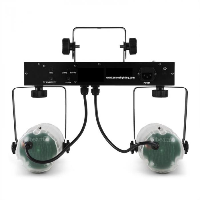 2-Some Clear Licht-Set RGBAW-LED Mikrofon