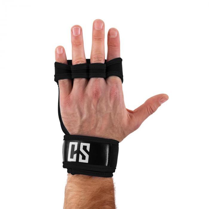 Palm Pro Gewichthebehandschuhe Größe L schwarz