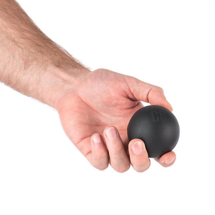 Knoby Lacrossball Massageball Set 4 Stück mobil schwarz