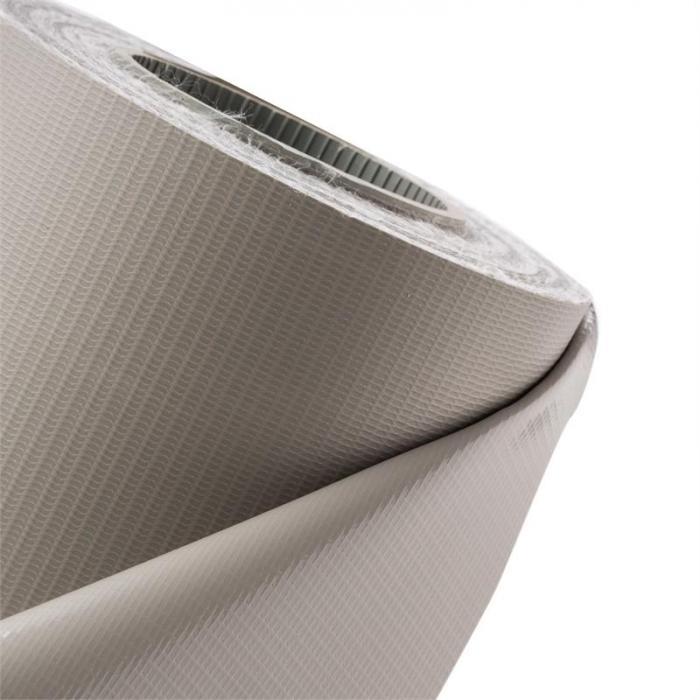 Pureview Sichtschutz PVC 35m x 19cm 30 Klemmschienen hellgrau