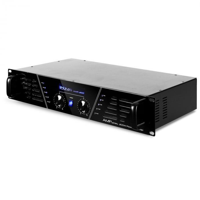 AMP-300 DJ PA Endstufe Verstärker 480W MOSFET