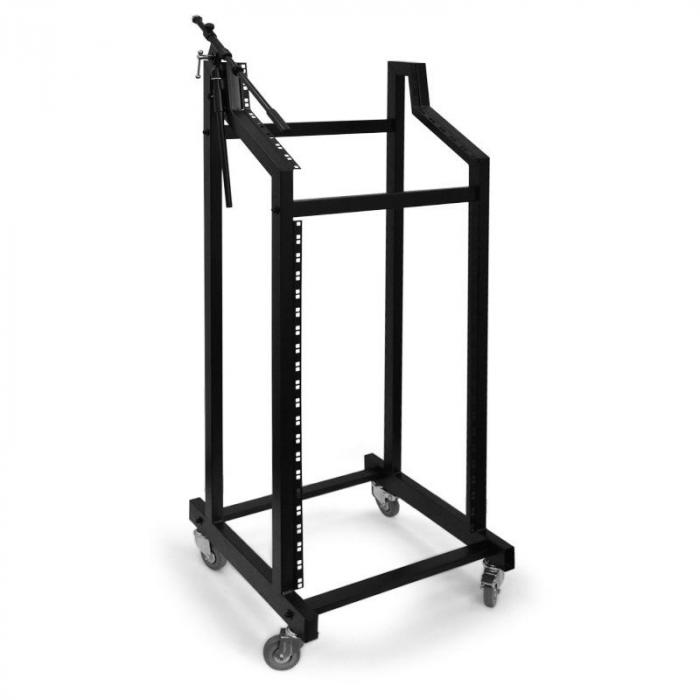 SR-19 DJ-PA-Rackstand Roll-Rack <60kg 21+6+3HE