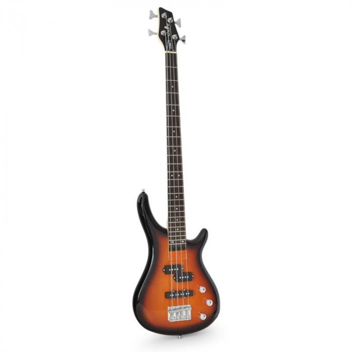 CCB90 Bassgitarre E-Bass Erlekorpus 24 Bünde sunburst