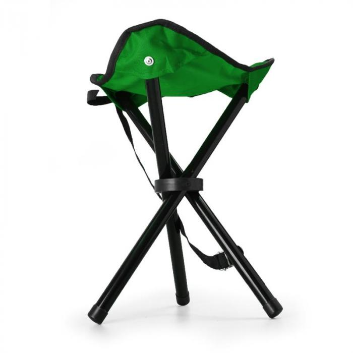 KT-Trestle mobiler Campingstuhl Angelsitz grün schwarz 500g
