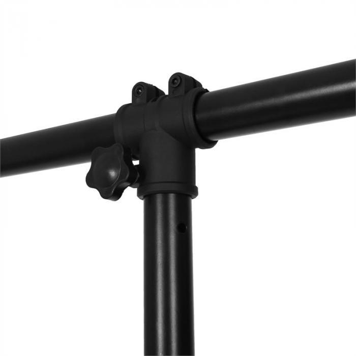 LTS-209LS Lichtstativ mit Crossbar-Ständern schwarz