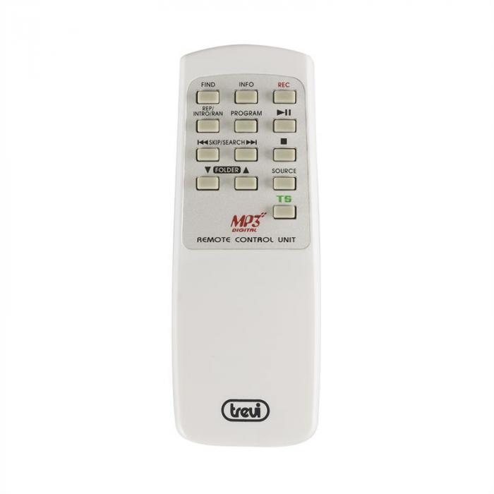 TT-1062E Vintage-Stereoanlage Weiß USB SD MP3