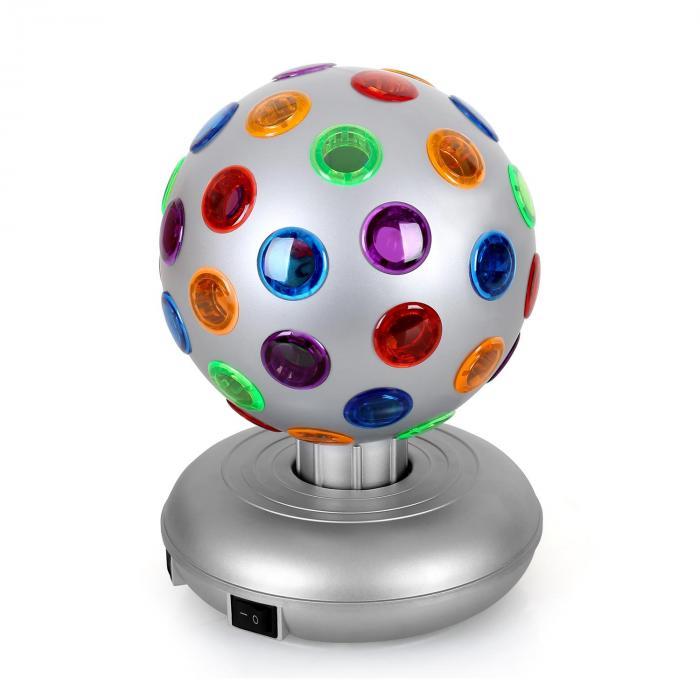 Disco Ball Party-Licht-Effekt 5W silber