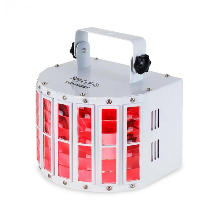 LED-Derby LED-Lichteffekt DMX RGBW