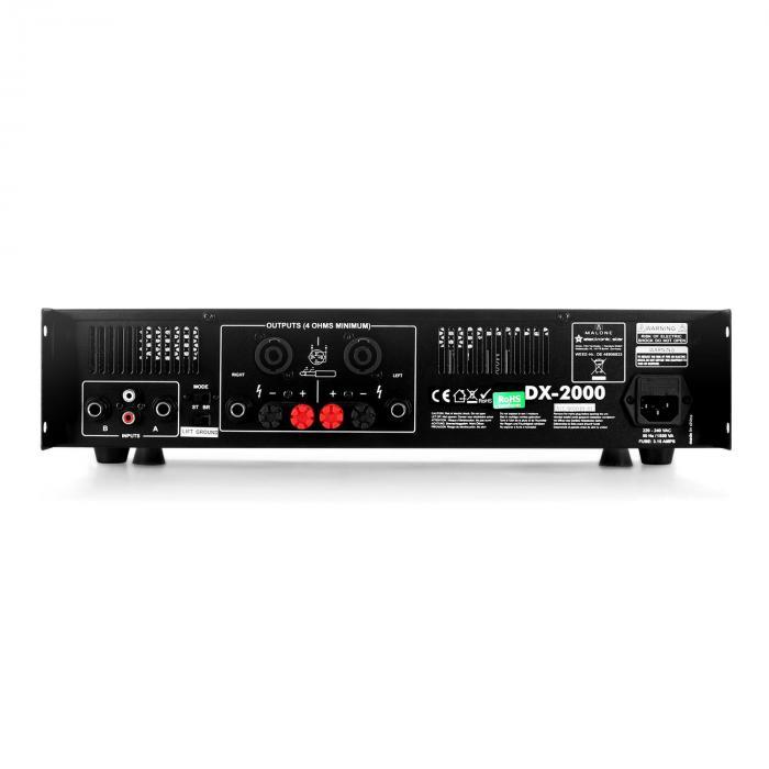 DX2000 PA-Endstufe Verstärker 2000W Brückbar