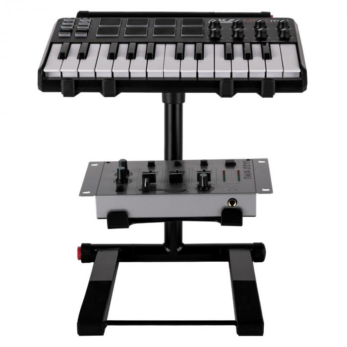 SLAP 200 duales DJ-Laptop-Stativ schwarz