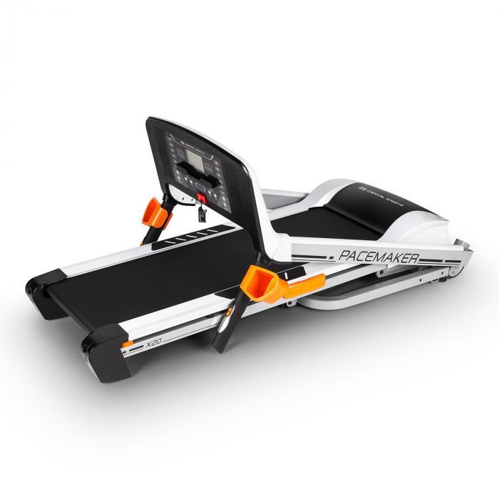 Pacemaker X20 Laufband mit Pulsgurt Silber 16km/h 4PS