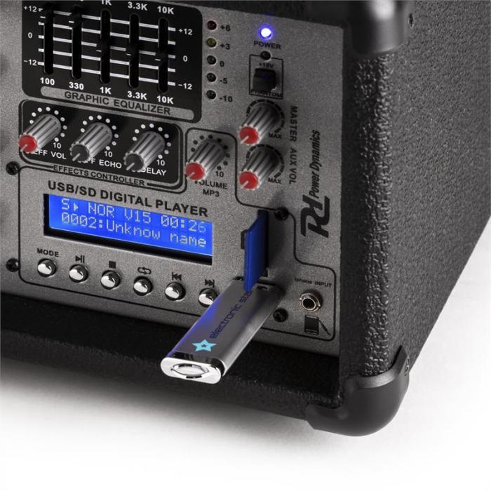 PDA-C804A 4-Kanal Power-Mixer 800 W