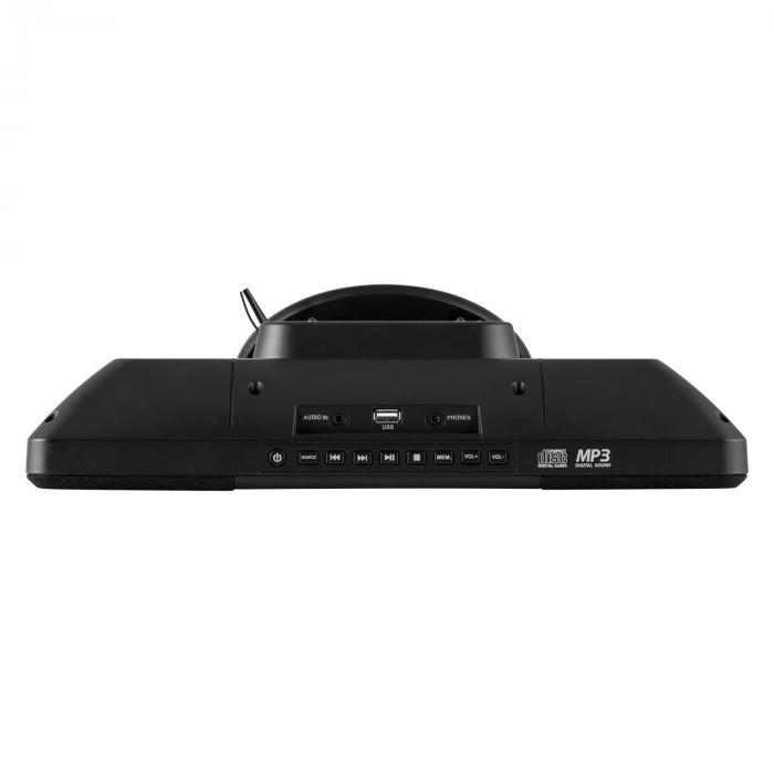 V-13 BT Stereoanlage CD MP3 USB Bluetooth Radio Wandmontage
