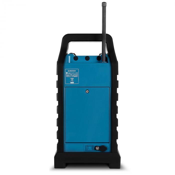 Hero Baustellenradio Outdoor-Lautsprecher DAB/DAB+ Bluetooth - blau