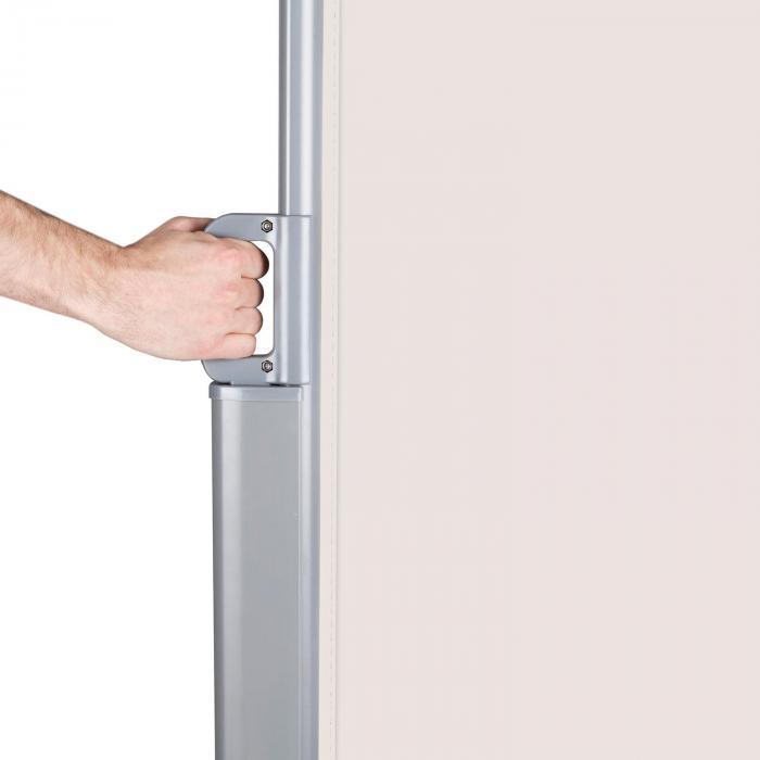 Bari 316 Seitenmarkise Seitenrollo 300x160cm Aluminium creme
