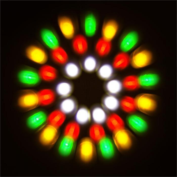4-Some Clear Licht-Set RGBW-LED DMX Mikrofon
