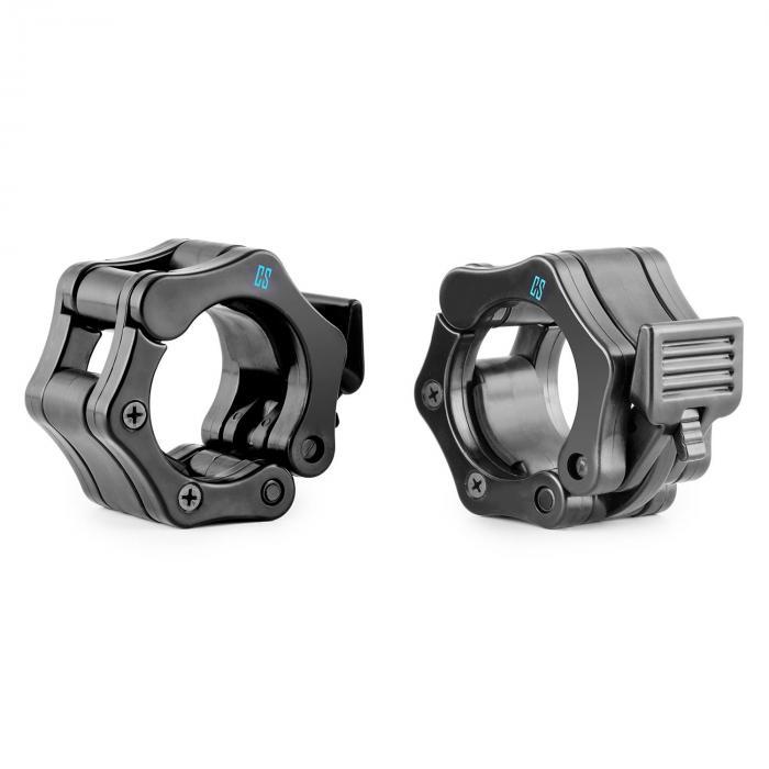 Chops Hantelstangen-Schnellverschluss Paar 50mm Schwarz