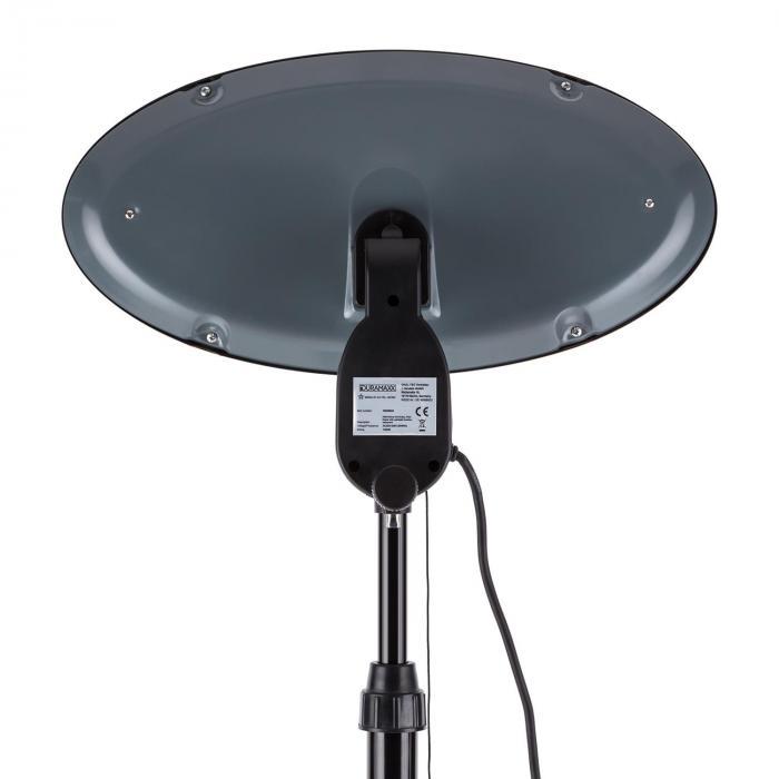 Shiny Hot Roddy Wickeltischheizstrahler Infrarot Lampe Quarz 1300W