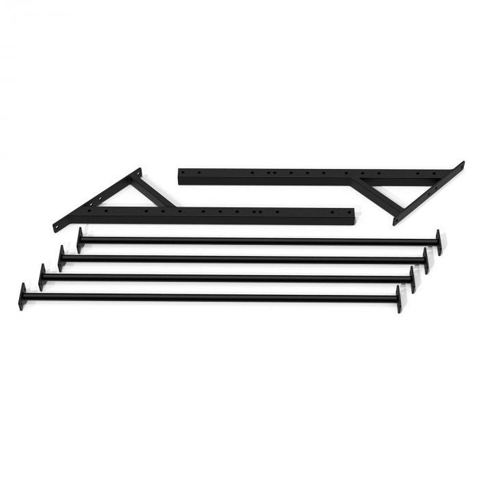 Dominate Edition Monkey Ladder 168 cm Schwarz Stahl