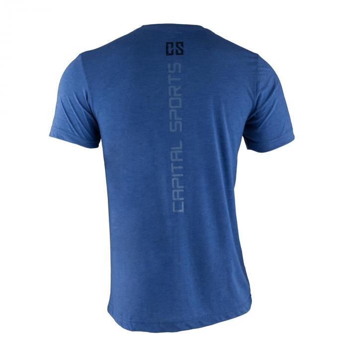 Trainings-T-Shirt für Männer Size S True Royal