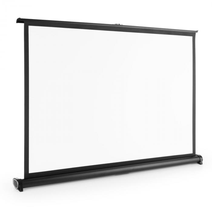 TSVS 40 Tischleinwand 4:3 81x62 cm schwarze Kassette