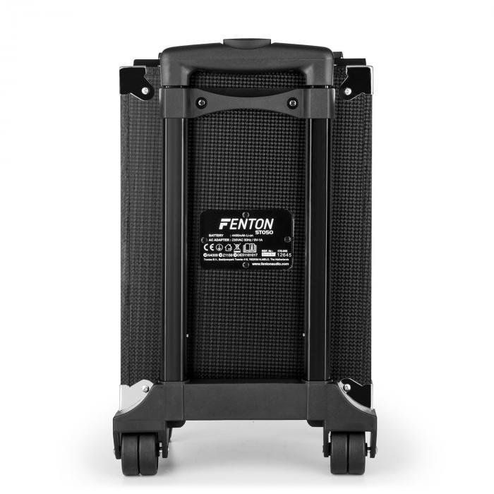 ST050 mobile PA-Anlage Bluetooth USB microSD MP3 AUX VHF Akku