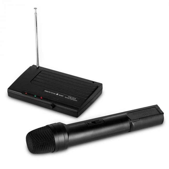 1-MIC kabelloses Funk Mikrofon Set System VHF
