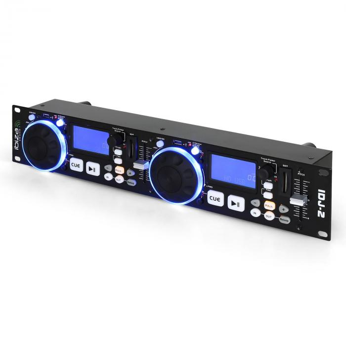 IDJ2 Doppel USB SD MP3 DJ Controller Scratch