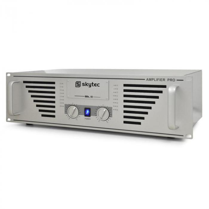 "DJ-PA Set ""Bass TiTan"" Verstärker, Boxen, 2 x 1000W max."