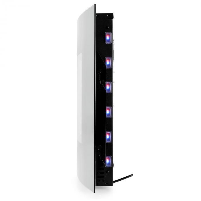 Lausanne Elektrischer Kamin 2000W LED Flammen Fernbedienung