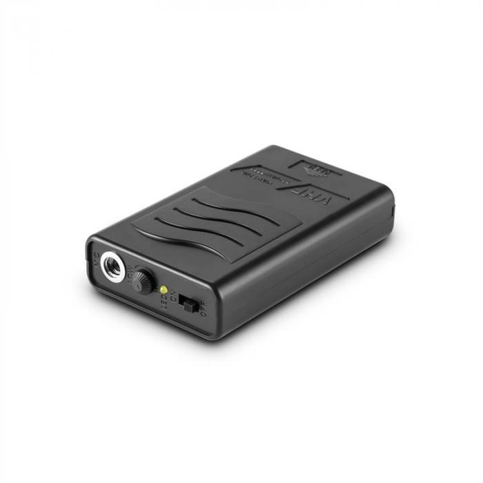 VHF4 4-Kanal-Funkmikrofon-Set 3 x Mikrofon 1 x Headset 60m